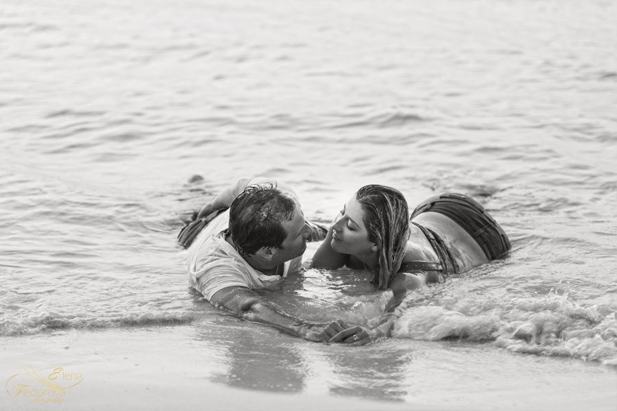 Artistic beach boudoir photography