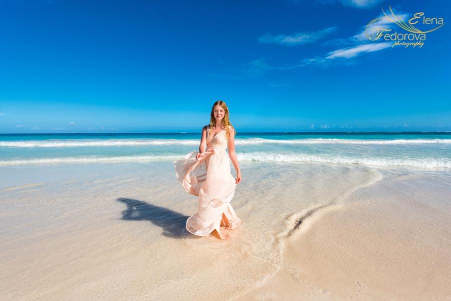beach photo session cancun