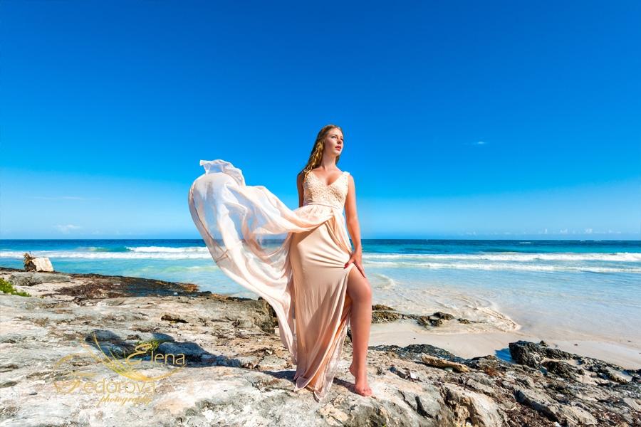 beach photo shoot cancun