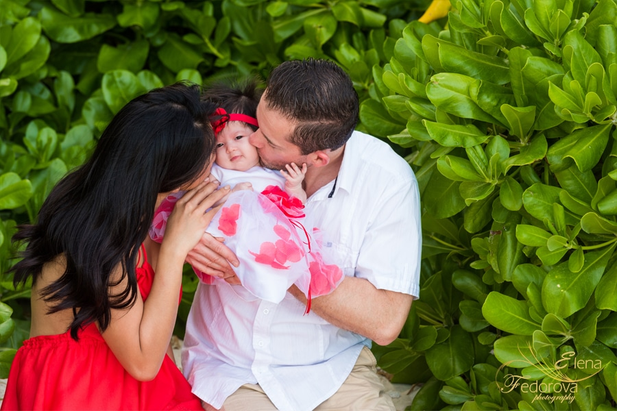 family photo session mayakoba playa del carmen