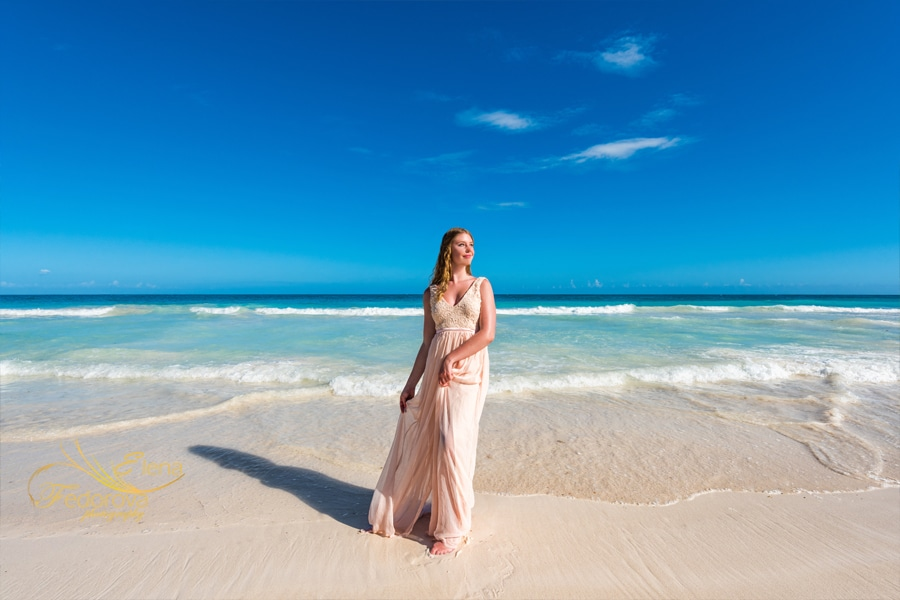 tulum beach photo shoot