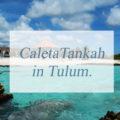 Caleta Tankah.