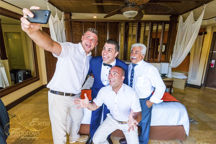 creative wedding photos selfie