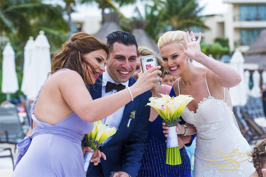 documenting wedding celebration dreams resort cancun
