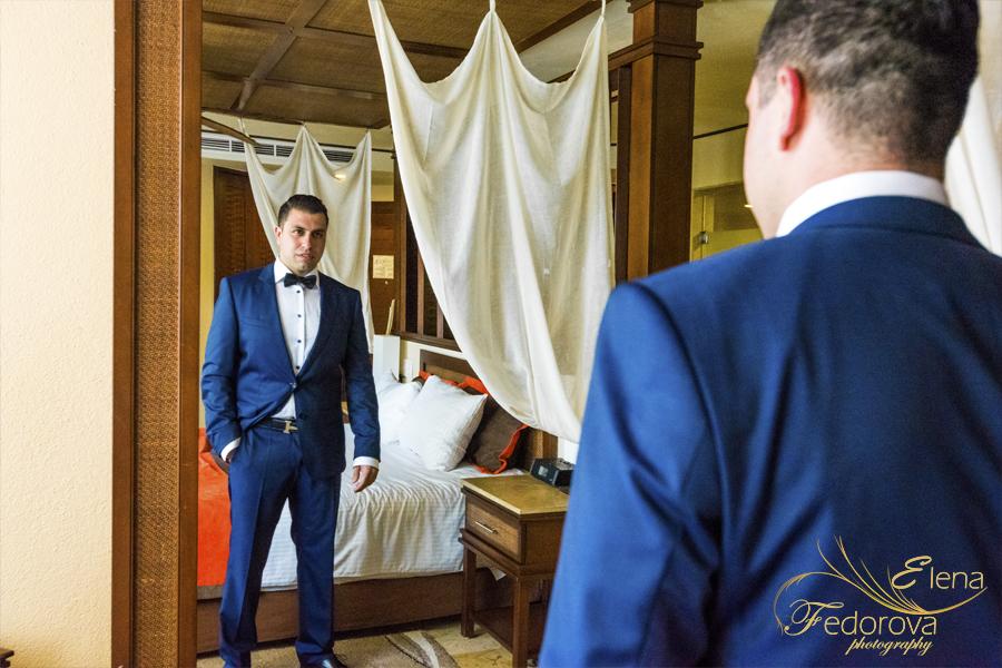 dreams cancun wedding photos
