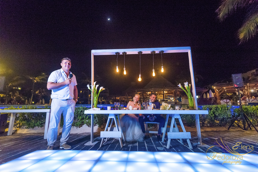 dreams riviera in mexico wedding