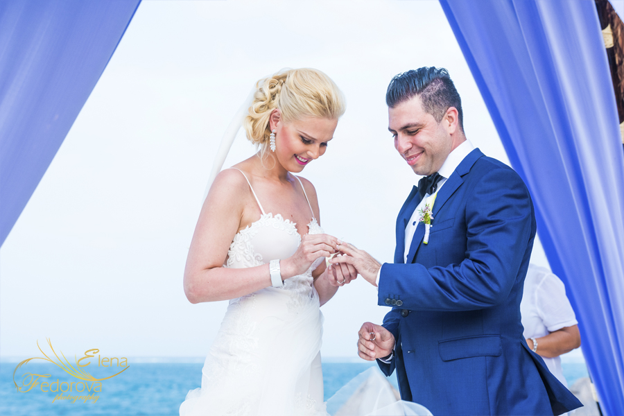 Dreams Riviera Cancun wedding day
