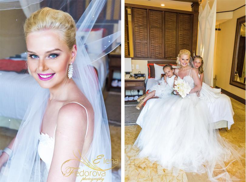 dreams riviera cancun wedding photo