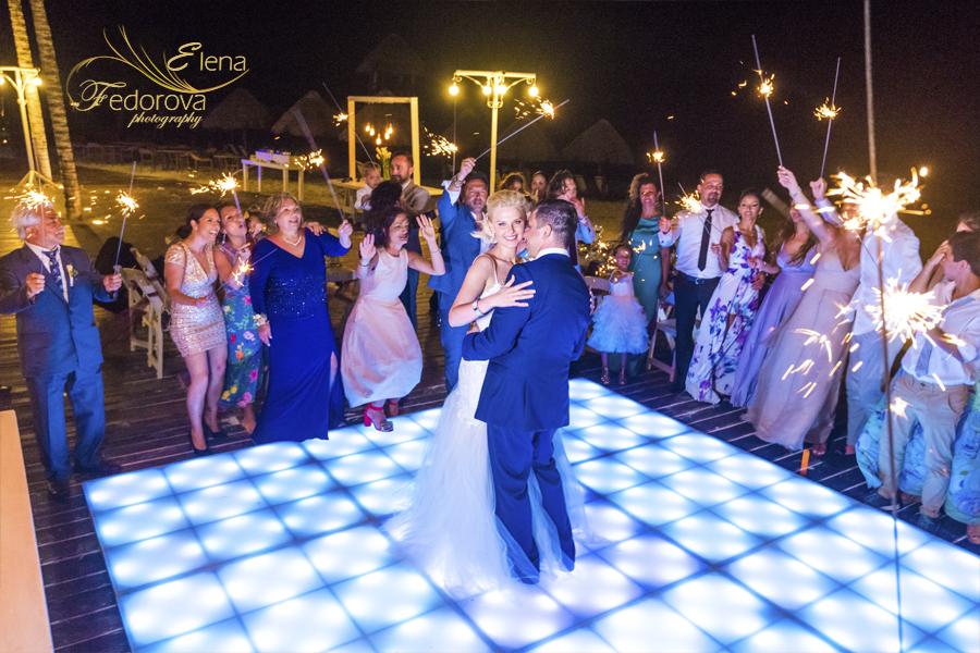 dreams riviera cancun wedding pictures