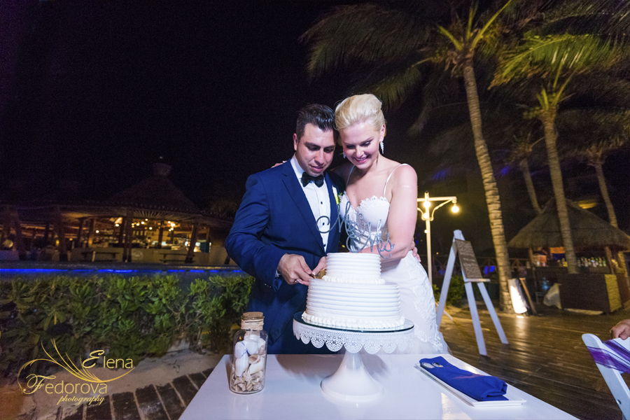 dreams riviera wedding