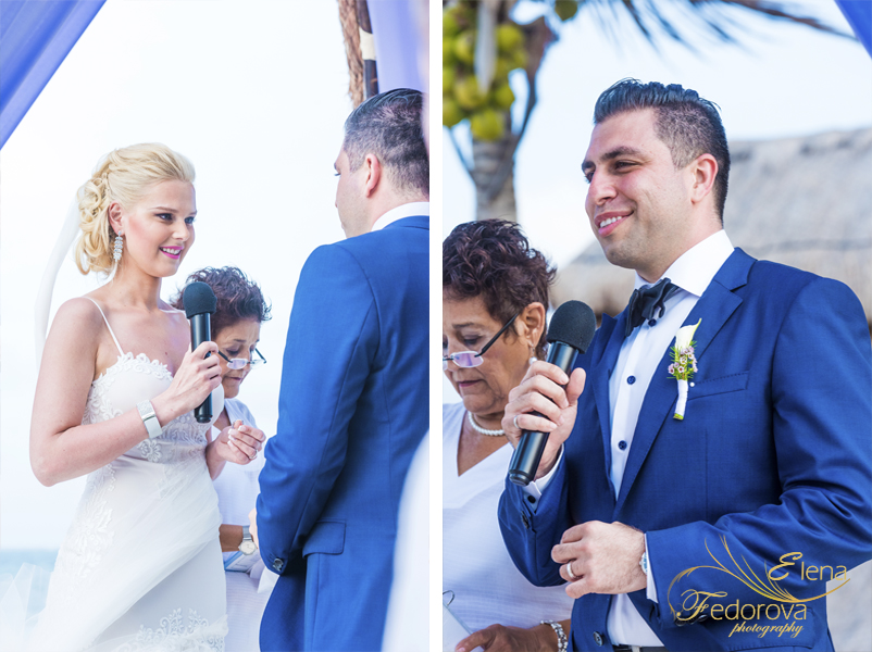 wedding ceremony dreams riviera mexico