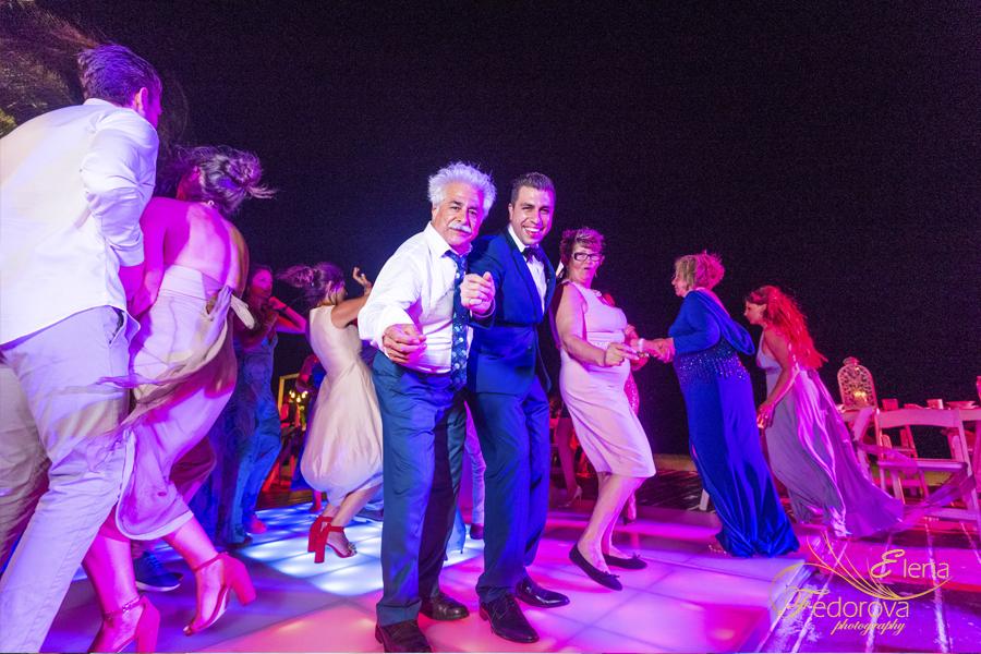 wedding reception at dreams riviera