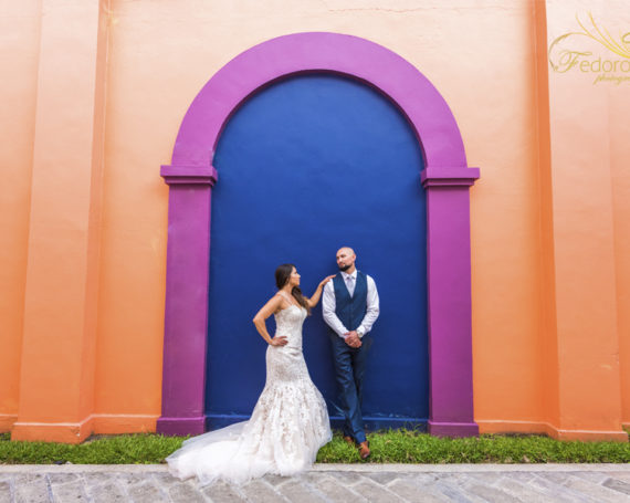 Wedding ceremony Riu Yucatan Playa del Carmen.