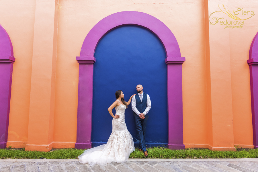 beautiful wedding photos riu yucatan