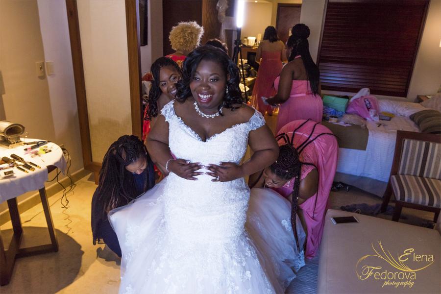 before wedding at secrets playa mujeres