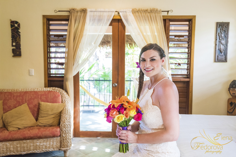 bride ready mayan ceremony