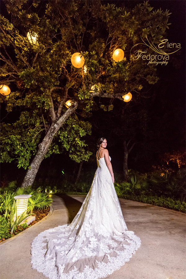 bride sandos playacar wedding