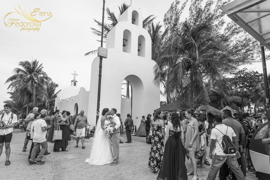 catholic church wedding ceremony playa del carmen
