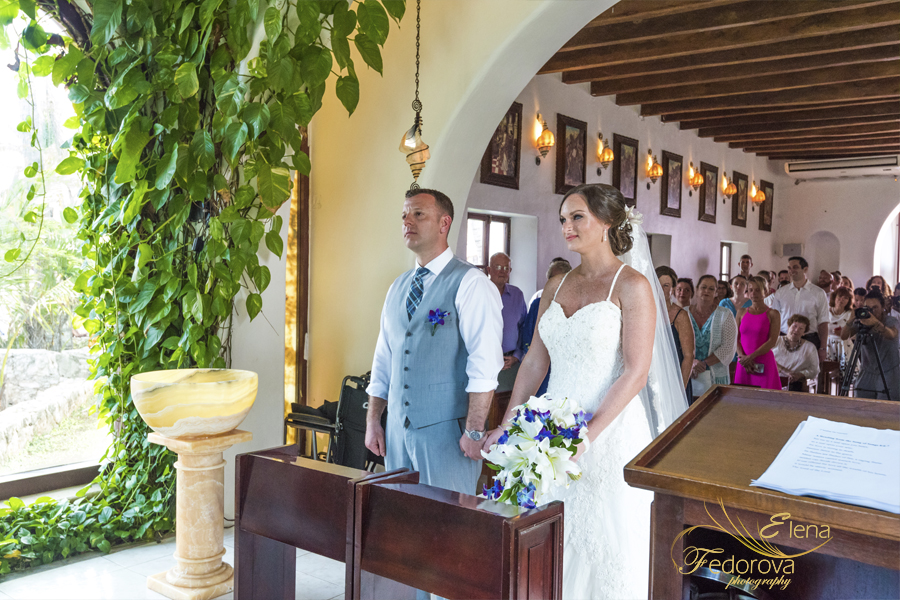 catholic wedding capilla nuestra senora playa del carmen