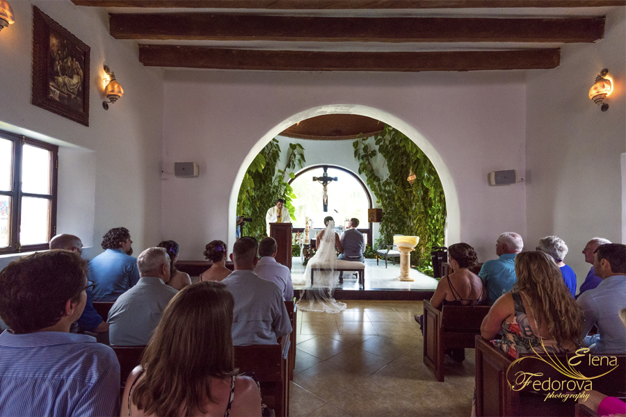 catholic wedding ceremony church playa del carmen