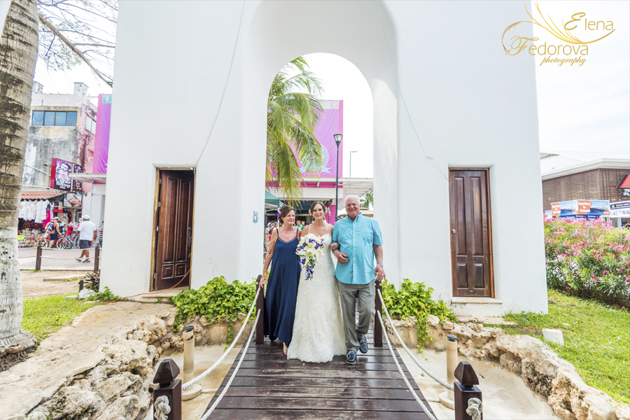 church wedding playa del carmen