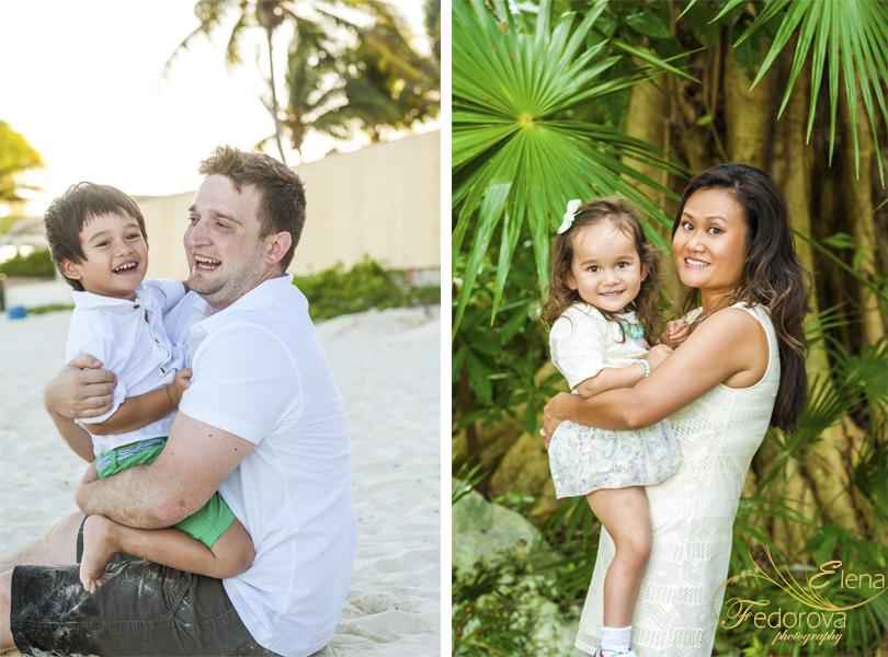 family playa del carmen photographer