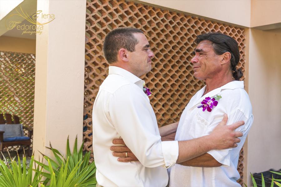 father groom photos