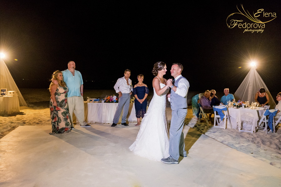 first dance sandos playacar