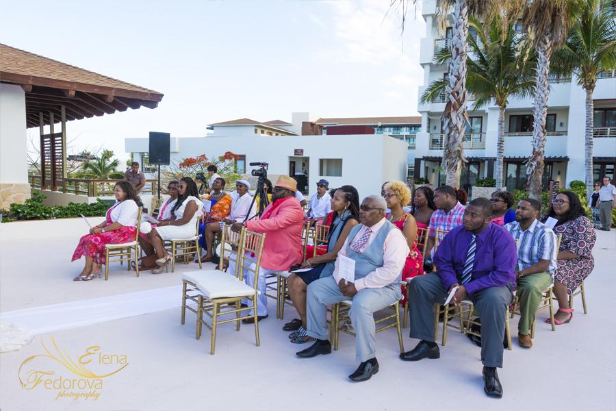 wedding at secrets playa mujeres