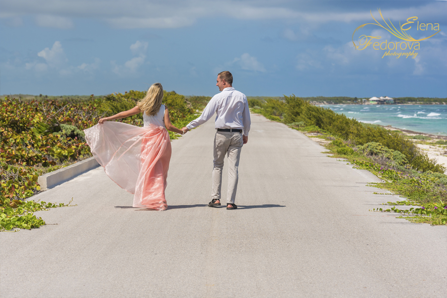 honeymoon photo shoot cozumel