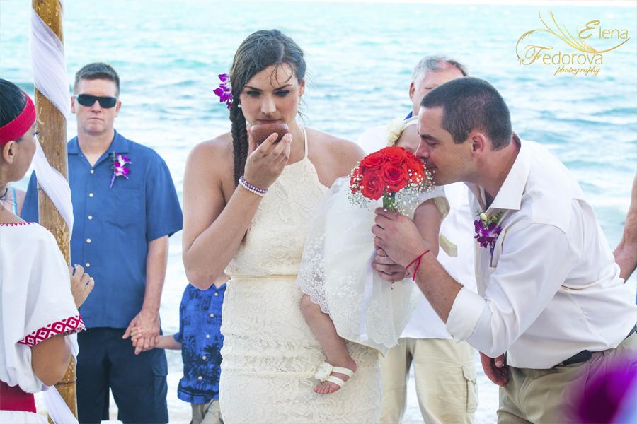 mayan wedding ceremony photo