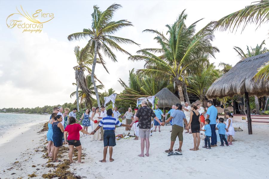 mayan wedding ceremony playa del carmen