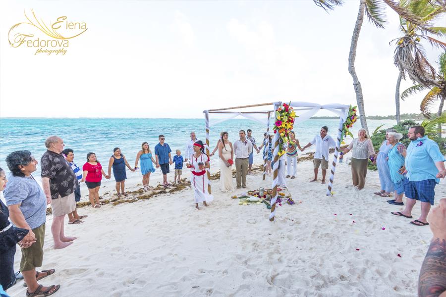 mayan wedding ceremony riviera maya