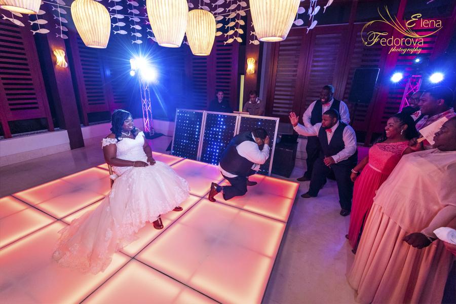 mexico cancun secrets playa mujeres wedding