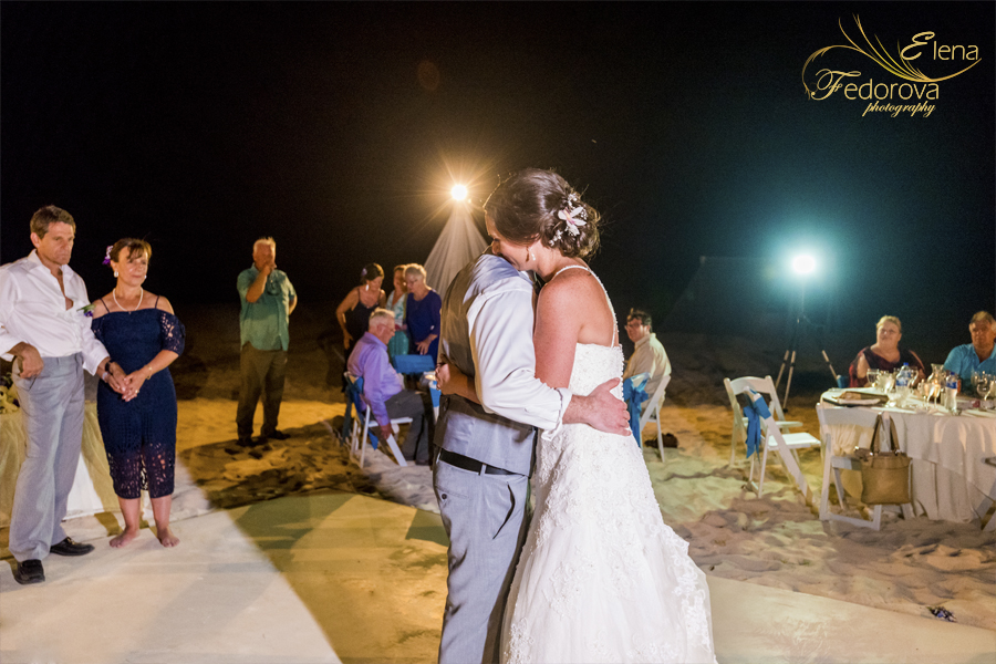 photo first dance sandos playacar