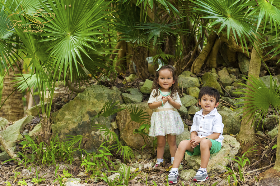 playa del carmen family pictures photo shoot