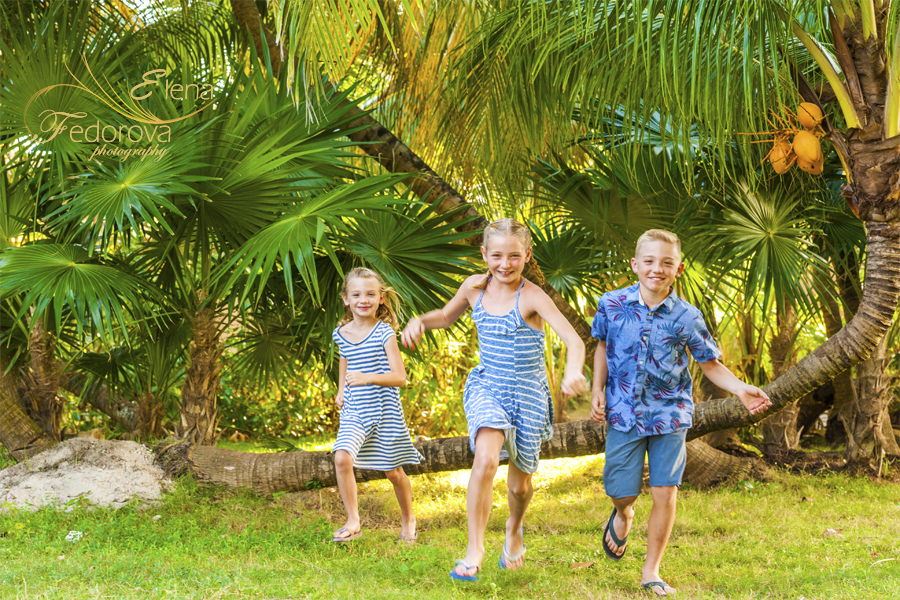 playa del carmen photographer kids family