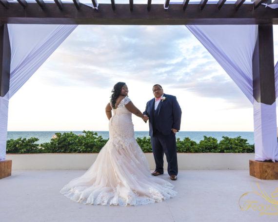 Wedding at Secrets Playa Mujeres Cancun.