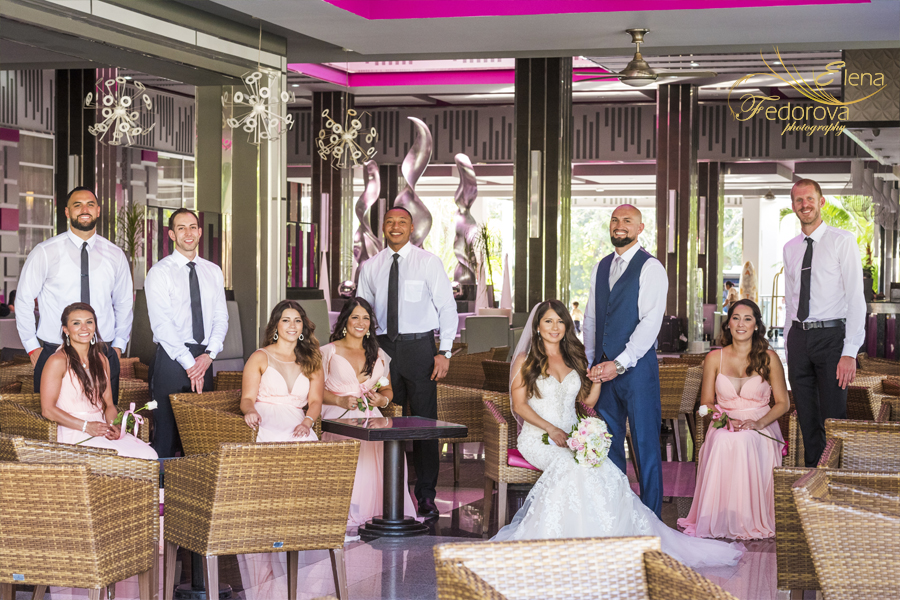 riu yucatan playa del carmen wedding