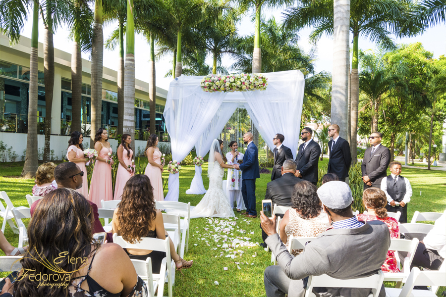 riu yucatan wedding