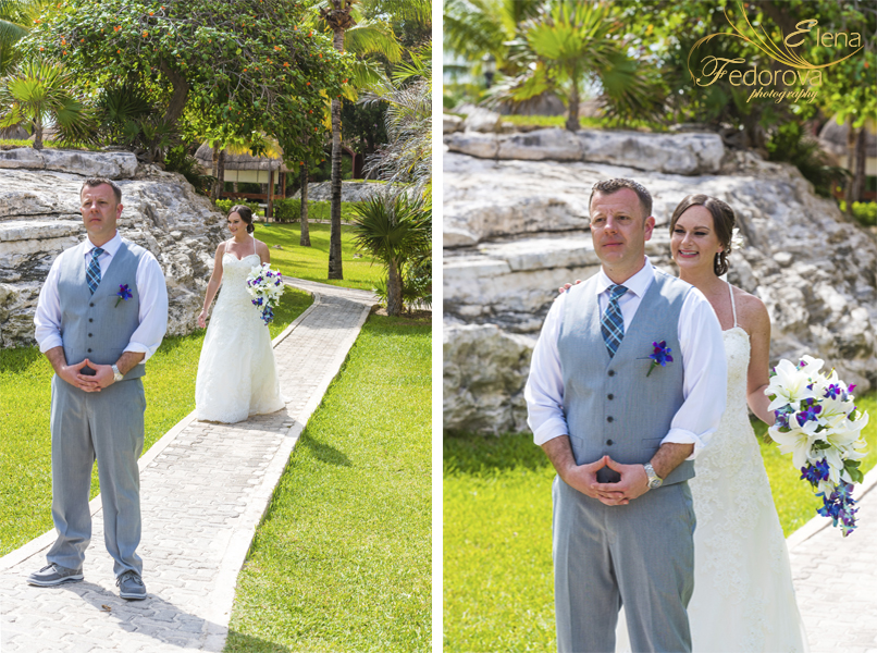 sandos playacar wedding photo