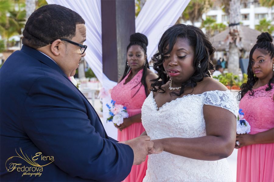 secrets playa mujeres wedding ceremony