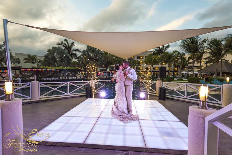 secrets silversand mexico weddings
