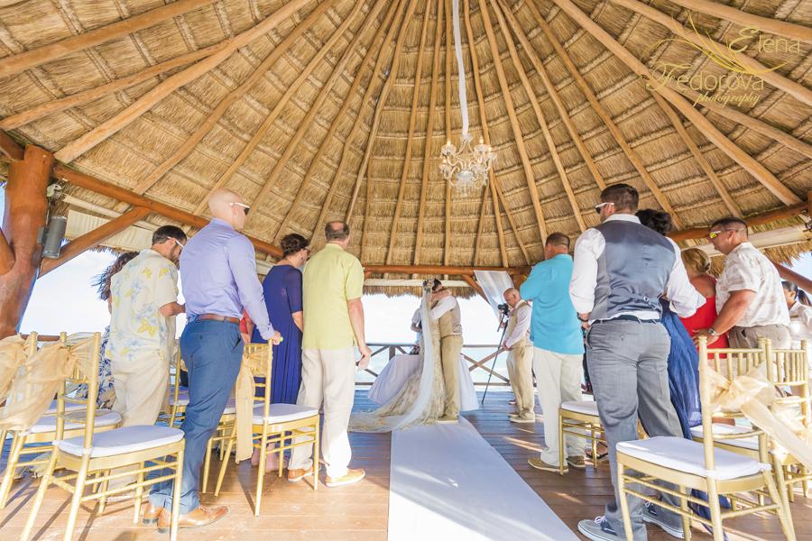secrets silversand wedding ceremony