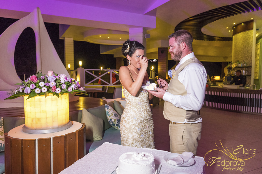 secrets silversand wedding reception