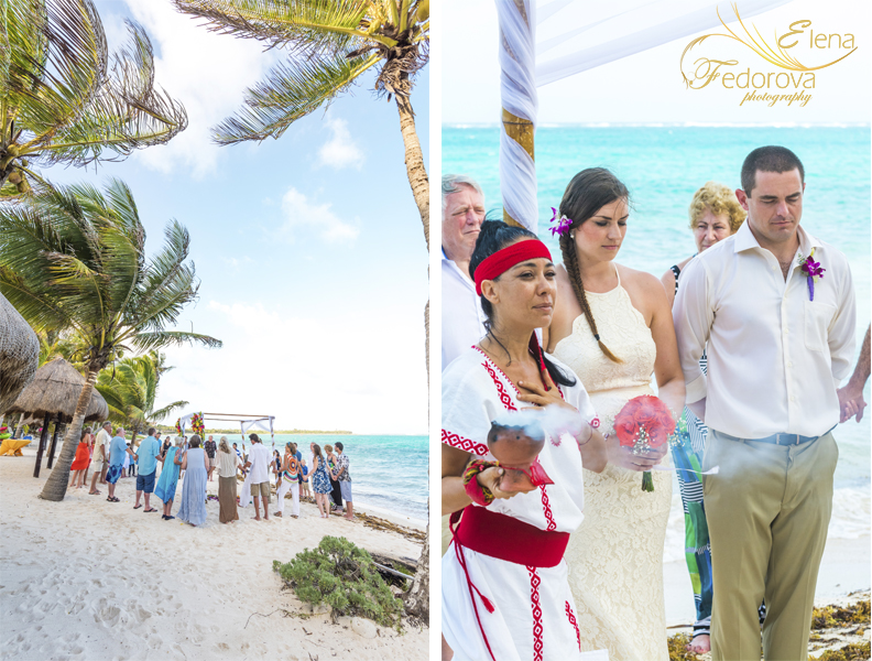 spiritual mayan wedding ceremony