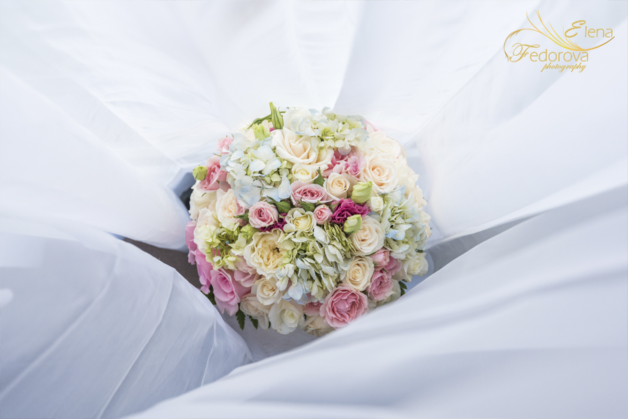 wedding bouquet riu yucatan mexico
