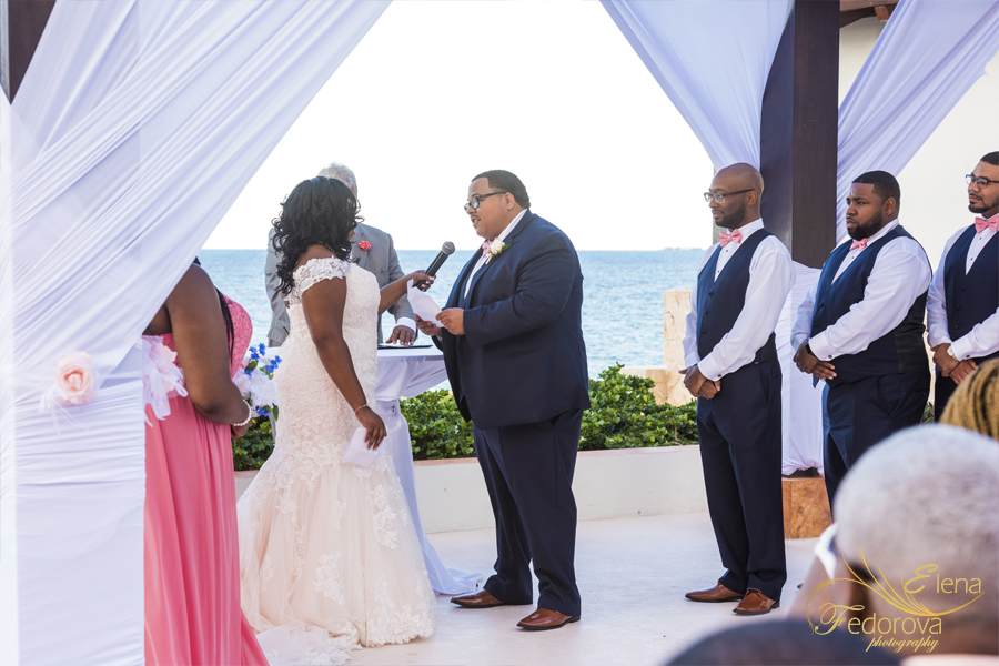 wedding ceremony secrets playa mujeres