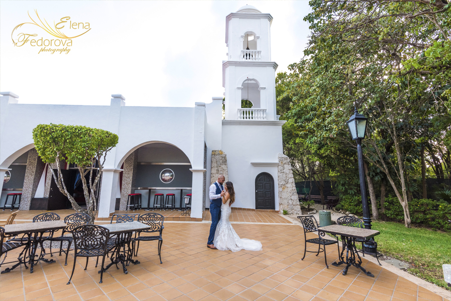 wedding photos riu yucatan mexico
