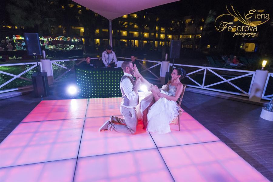 wedding reception secrets silversand riviera